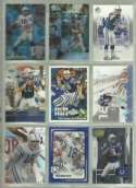 20 Different Peyton Manning Football Cards