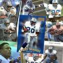 Various Brands Detroit Lions Barry Sanders 20 Trading Card Set