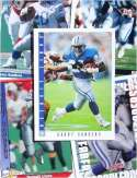 Barry Sanders 20-card set with 2-piece acrylic case