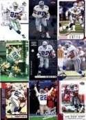 Emmitt Smith lot of 20 different NFL football cards