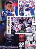 Drew Bledsoe 20-card set with 2-piece acrylic case