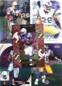 Marshall Faulk 20-card set with 2-piece acrylic case