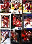 20 Assorted Theoren Fleury Hockey Cards