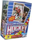 1991/92 O-Pee-Chee Hockey Box - 36 packs / 8 cards per pack