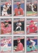 St. Louis Cardinals 1989 Fleer Baseball Card Team Set