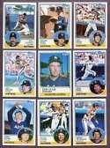 1983 Topps Houston Astros Team Set (28 Cards)