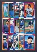 1990 Topps Chicago Cubs Team Set
