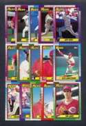 1990 Topps Cincinnati Reds Team Set