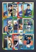 1990 Topps Houston Astros Team Set