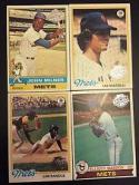 New York Mets 1970 - 1979 Topps - 40 Baseball Cards In New Protective Display Album