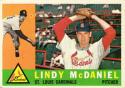 1960 Topps #195 Lindy McDaniel EX++ 60/40