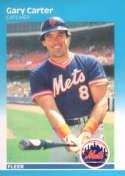 1987 Fleer #4 Gary Carter NM