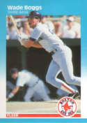 1987 Fleer #29 Wade Boggs NM