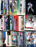 100 Assorted Minnesota Twins Baseball Cards Plus Twelve 9-Pocket Storage Pages (stores up to 216 cards)