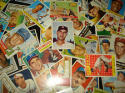 25 Assorted Vintage Topps Baseball Cards from the 1950's - In Protective Display Album!