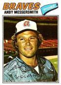 Andy Messersmith 1977 Topps Atlanta Braves Baseball Card #80