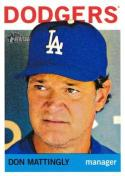 2013 Topps Heritage #101 Don Mattingly NM-MT