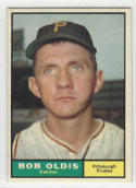 1961 Topps #149 Bob Oldis Excellent-Near Mint