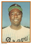 Hank Aaron 1985 Topps Glossy Home Run Kings Baseball Card #1 (Atlanta Braves)