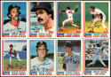 1982 Topps Boston Red Sox Complete Team Set (29 Cards)