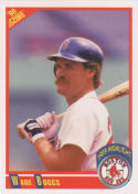 1990 Score #704 Wade Boggs 200 Hits Boston Red Sox Baseball Card