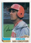 1982 Topps #660 Dave Concepcion Cincinnati Reds Baseball Card