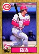 Pete Rose 1987 Topps Baseball Card #200