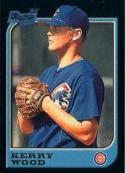 1997 Bowman #196 Kerry Wood Chicago Cubs Rookie Baseball Card