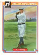 Cy Young 1983 Donruss Hall of Fame Heroes Baseball Card #27