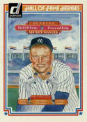 Mickey Mantle 1983 Donruss Hall of Fame Heroes Baseball Card #43