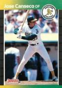 1989 Donruss #91 Jose Canseco  Athletics
