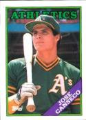 1988 Topps #370 Jose Canseco NM-MT Athletics