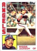 1984 Topps #100 Reggie Jackson NM Angels