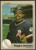 1983 Fleer #93 Reggie Jackson NM Angels