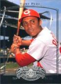 2005 UD Past Time Pennants #83 Tony Perez NM Reds
