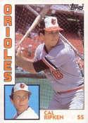 1984 Topps #490 Cal Ripken Jr. NM