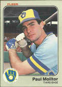 1983 Fleer #40 Paul Molitor NM