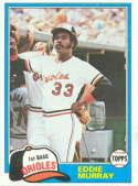 1981 Topps #490 Eddie Murray NM