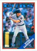 1988 Topps #10 Ryne Sandberg Cubs