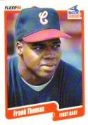 1990 Fleer Update #U-87 Frank Thomas NM-MT Rookie Card White Sox