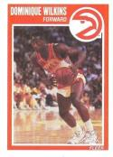 1989/1990 Fleer #7 Dominique Wilkins Atlanta Hawks Basketball Card