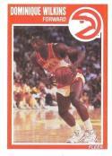 1989/1990 Fleer #7 Dominique Wilkins Atlanta Hawks Basketball Card