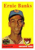 2002 Topps Archives #107 Ernie Banks 58 NM