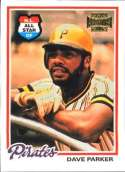 2002 Topps Archives #42 Dave Parker 78 NM