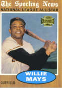 2002 Topps Archives #182 Willie Mays 62/ AS NM