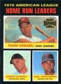 2002 Topps Archives #191 Frank Howard/Harmon Killebrew/Carl Yastrzemski NM