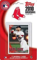 2010 Topps Boston Red Sox Factory Sealed 17 Card Team Set