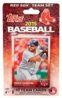 2015 Topps Factory Sealed Boston Red Sox Team Set #1-17 (New) NM-MT 50/50!