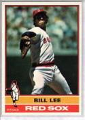 Bill Lee 1976 Topps Baseball Card 396