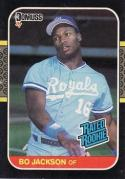 1987 Donruss 1987 Donruss #35 Bo Jackson NM-MT Rookie Card